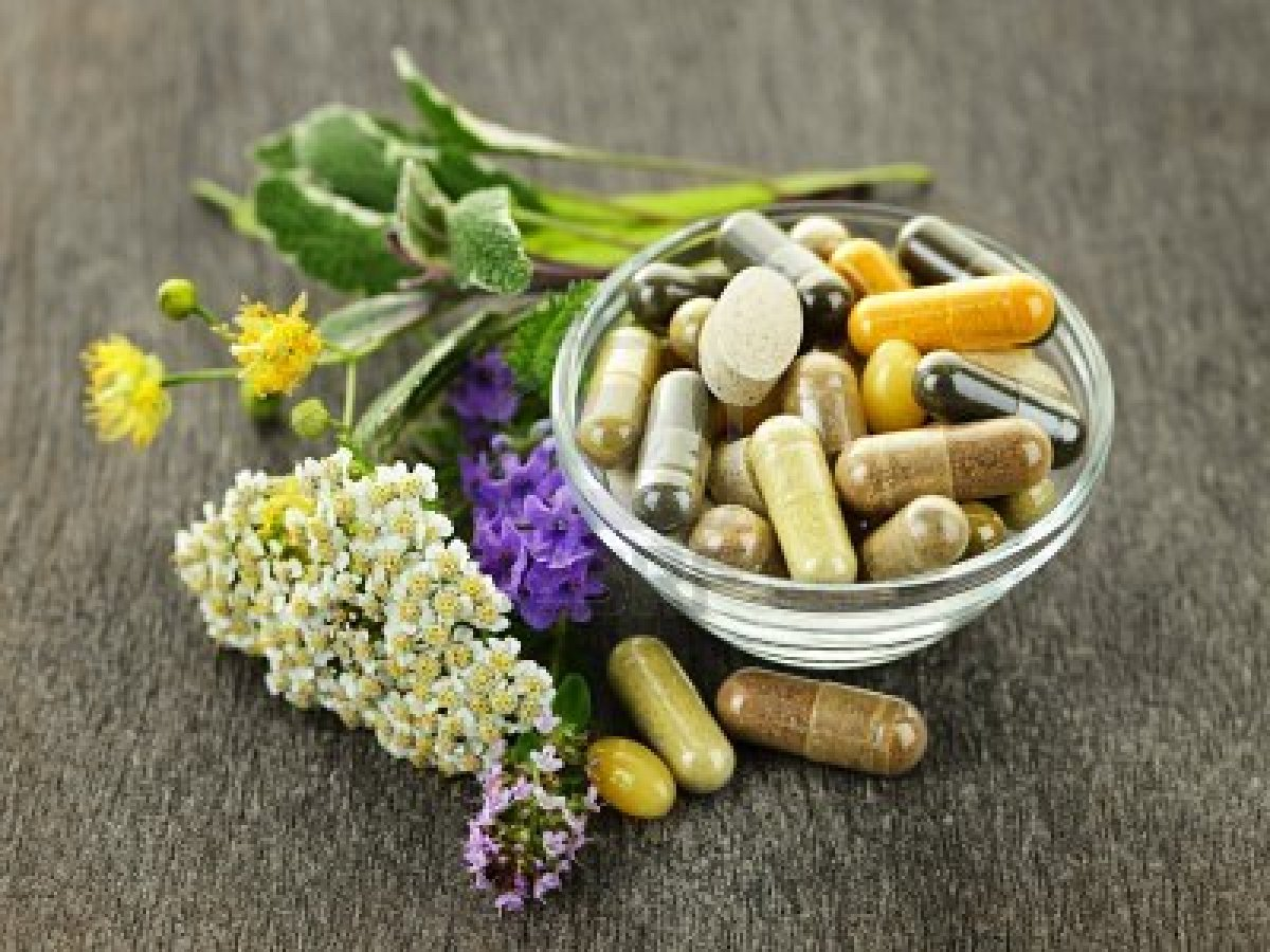 Chinese herbal supplements for acne